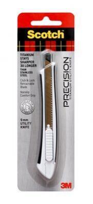 Нож Scotch™ Titanium Utility Knife, 9mm