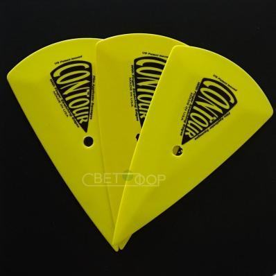 GT201Y Выгонка желтая остроугольная