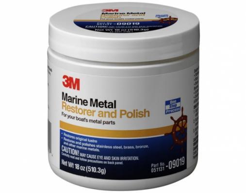 09019 Паста Marine полировальная для металла, 500мл.