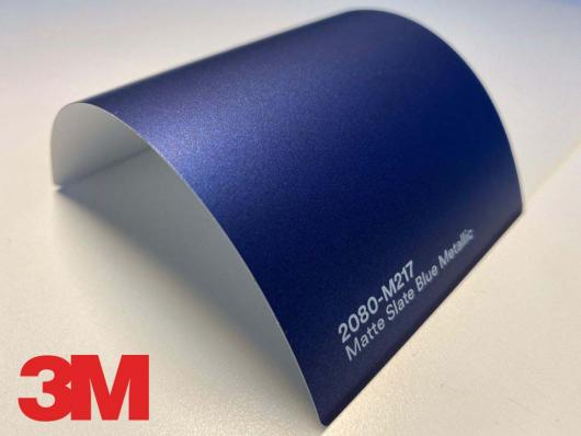 3M™ Wrap Film Series 2080-M217, Matte Slate Blue Metallic,1,524 * 22,86
