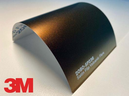 3M™ Wrap Film Series 2080-SP236, Satin Flip Volcanic Flare, 1,524 * 22,86