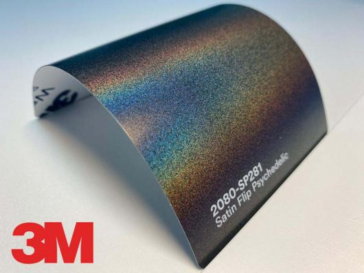3M™ Wrap Film Series 2080-SP281, Satin Flip Psychedelic, 1,524 * 22,86