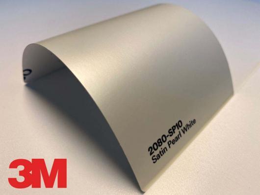 3M™ Wrap Film Series 2080-SP10, Satin Pearl White, 1,524 * 22,86