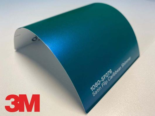 3M™ Wrap Film Series 1080-SP276, Satin Flip Caribbean Shimmer, 1,524*22,86
