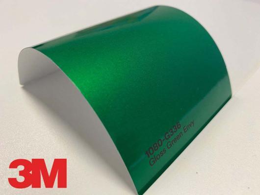 3M™ Wrap Film Series 1080-G336, Gloss Green Envy, 1,524*22,86