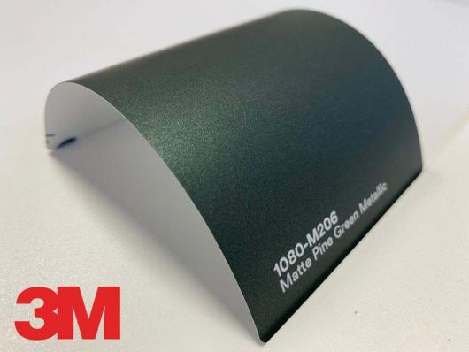 3M™ Wrap Film Series 1080-M206, Matte Pine Green Metallic, 1,524*22,86