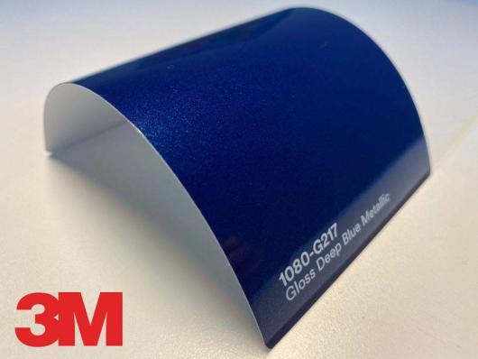 3M™ Wrap Film Series 1080-G217, Gloss Deep Blue Metallic, 1,524*22,86