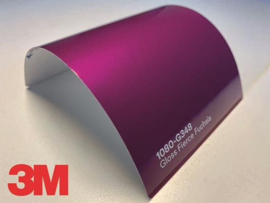 3M™ Wrap Film Series 1080-G348, Gloss Fuschia, 1,524*22,86