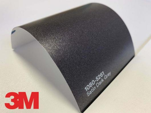 3M™ Wrap Film Series 1080-S261, Satin Dark Gray, 1,524*22,86