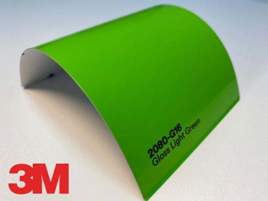 3M™ Wrap Film 2080-G16, Gloss Light Green, 60 in x 25 yd