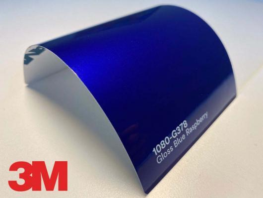 3M™ Wrap Film Series 1080-G378, Gloss Blue Raspberry, 60 in x 25 yd