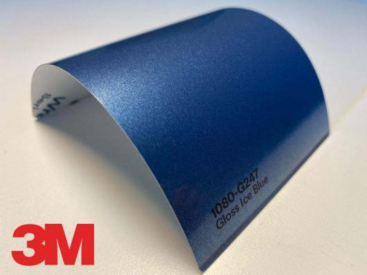 3M™ Wrap Film Series 1080-G247, Gloss Ice Blue, 60 in x 25 yd