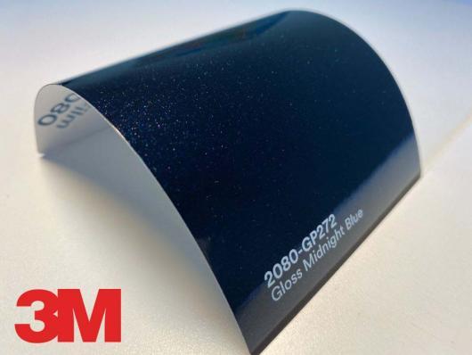 3M™ Wrap Film Series 2080-GP272, Gloss Midnight Blue, 60 in x 25 yd