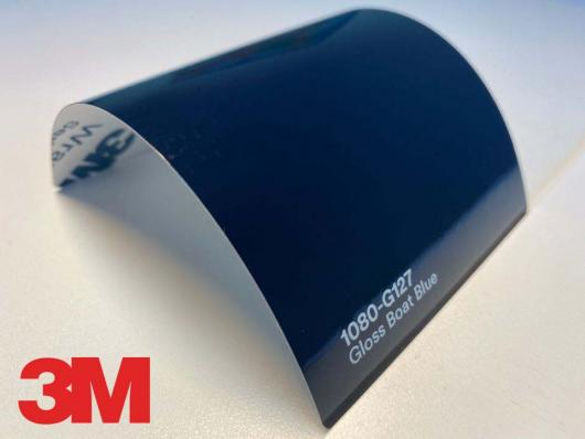 3M™ Wrap Film Series 1080-G127, Gloss Boat Blue, 60 in x 25 yd