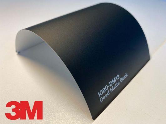 3M™ Wrap Film Series 1080-DM12, Dead Matte Black, 60 in x 25 yd