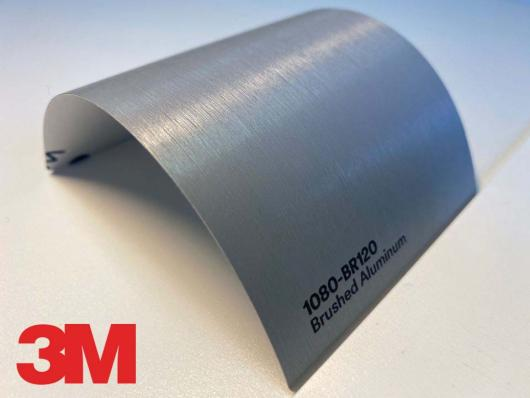 3M™ Wrap Film Series 1080-BR120, Brushed Aluminum, 60 in x 25 yd