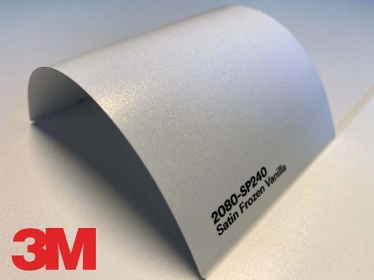 3M™ Wrap Film Series 2080-SP240, Satin Frozen Vanilla, 60 in x 25 yd